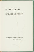 Books:Fiction, Robert Frost. SIGNED/LIMITED. Steeple Bush. New York: HenryHolt and Company, 1947. ...