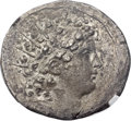 Ancients:Greek, Ancients: SELEUCID KINGDOM. Antiochus VI Dionysus (144-142 BC). ARtetradrachm (31mm, 15.82 gm, 1h)....