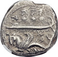 Ancients:Greek, Ancients: PHOENICIA. Byblus. Ozbaal or Azbaal (ca. 400-376 BC). ARshekel (24mm, 13.14 gm, 2h)....