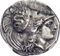 Ancients:Greek, Ancients: LUCANIA. Heraclea. Ca. 330-280 BC. AR stater (21mm, 6.35gm, 7h)....