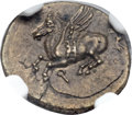Ancients:Greek, Ancients: CORINTHIA. Corinth. Ca.  368-355 BC. Æ denominationD (14mm, 1.82 gm, 4h)....