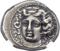Ancients:Greek, Ancients: THESSALY. Larissa. Ca. 380-350 BC. AR drachm (20mm, 6.10gm, 9h)....