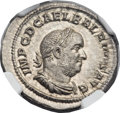 Ancients:Roman Imperial, Ancients: Balbinus (AD 238). AR denarius (20mm, 3.61 gm, 12h)....