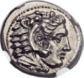 Ancients:Greek, Ancients: MACEDONIAN KINGDOM. Alexander III the Great (336-323 BC).AR drachm (17mm, 4.33 gm, 2h)....