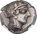 Ancients:Greek, Ancients: ATTICA. Athens. Ca. 454-440 BC. AR tetradrachm (27mm, 17.17 gm, 6h)....