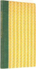 Books:Literature 1900-up, D. H. Lawrence. LIMITED. Bay: A Book of Poems. [BeaumontPress, 1919]....