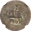 Chile, Chile: Valdivia. City Emergency Issue silver 2 Reales 1822 VF35NGC,...