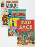 Silver Age (1956-1969):Humor, Sad Sack Travel Related Comics File Copy Group of 90 (Harvey, 1960s) Condition: Average VF/NM.... (Total: 90 Comic Books)