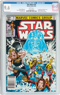 Modern Age (1980-Present):Science Fiction, Star Wars #74 (Marvel, 1983) CGC NM+ 9.6 White pages....