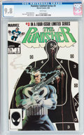 Modern Age (1980-Present):Superhero, Punisher (Limited Series) #3 (Marvel, 1986) CGC NM/MT 9.8 Whitepages....