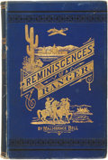 Books:Americana & American History, Major Horace Bell. Reminiscences of a Ranger, or, Early Times inSouthern California. Los Angeles: Yarnell, Cays...