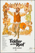 "Movie Posters:Musical, Fiddler on the Roof (United Artists, 1972/R-1979). One Sheets (2) (27"" X 41""). Musical.. ... (Total: 2 Items)"