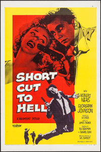 """Short Cut to Hell & Others Lot (Paramount, 1957). One Sheets (2) (27"""" X 41""""), Lobby Card, British Lobby Ca..."""