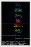 "Movie Posters:Comedy, Zelig (Orion, 1983). One Sheet (27"" X 41""). Comedy.. ..."