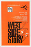 "Movie Posters:Academy Award Winners, West Side Story (United Artists, R-1963). One Sheet (27"" X 41"")Academy Awards Style. Musicals.. ..."