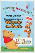 """Movie Posters:Animation, The Many Adventures of Winnie the Pooh (Buena Vista, R-1977). One Sheet (27"""" X 41""""). Animation.. ..."""