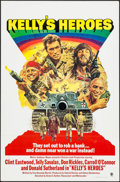 """Movie Posters:War, Kelly's Heroes (MGM, R-1972). One Sheet (27"""" X 41"""") Flat Folded.War.. ..."""