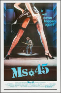 "Movie Posters:Exploitation, Ms. 45 (Rochelle Films, 1981). One Sheet (27"" X 41""). Exploitation.. ..."