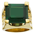 Estate Jewelry:Rings, Tourmaline, Colored Diamond, Gold Ring. ...