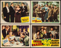 "Movie Posters:Drama, The Moon and Sixpence & Others Lot (United Artists, 1942). Lobby Cards (4) (11"" X 14"") and Uncut Pressbook (30 Pages, 14"" X ... (Total: 5 Items)"