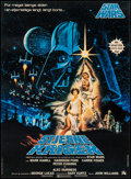 "Movie Posters:Science Fiction, Star Wars (20th Century Fox, 1977). Danish Poster (24.5"" X 33.25""). Science Fiction.. ..."