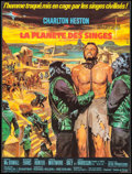 """Movie Posters:Science Fiction, Planet of the Apes (20th Century Fox, 1968). French Affiche (22.5"""" X 30""""). Science Fiction.. ..."""
