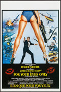 """Movie Posters:James Bond, For Your Eyes Only (United Artists, 1981). Belgian (14"""" X 21.25"""").James Bond.. ..."""