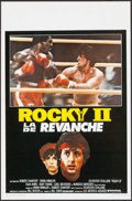 "Movie Posters:Sports, Rocky II (United Artists, 1980). Belgian (14"" X 21.25""). Sports.. ..."