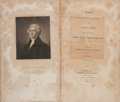 Books:Americana & American History, Thomas Jefferson. The Writings of Thomas Jefferson. 1830.Four Volumes.... (Total: 4 Items)