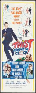"""Movie Posters:Rock and Roll, Twist Around the Clock (Columbia, 1961). Insert (14"""" X 36""""). Rockand Roll.. ..."""