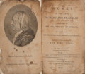 Books:Biography & Memoir, [Benjamin Franklin]. Works of the Late Dr. Benjamin Franklin;Consisting of His Life, Written by Himself,... New...