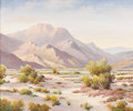 Texas:Early Texas Art - Impressionists, HERBERT SARTELLE (1885-1955). Untitled Desert Landscape. Oil oncanvas. 25in. x 30in.. Signed lower right. A Texas and Cal...