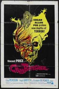 "Cry of the Banshee (AIP, 1970). One Sheet (27"" X 41""). Horror. Starring Vincent Price, Essy Persson, Hugh Grif..."