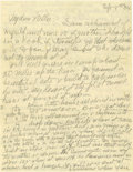 Basketball Collectibles:Others, 1934 James Naismith Handwritten Signed Letter with SignedEnvelope.. Date: September 8, 1934.. Location: Lawrence, Kansa...