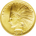 Indian Eagles: , 1916-S $10 MS63 NGC. This is an important date in the Indian eagleseries, although it is somewhat underrated due to the pl...