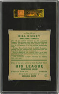 Baseball Cards:Singles (1930-1939), 1933 Goudey Bill Dickey #19 SGC VG-EX 50. With its multi-colored background and superior centering, this '33 Goudey Bill Di...
