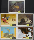 "Movie Posters:Animated, Fantasia (Buena Vista, R-1963). Lobby Cards (5) (11"" X 14""). Animated Fantasy. Starring Leopold Stokowski, and the voices of... (Total: 5 Items)"