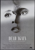 "Movie Posters:Mystery, Dead Again (Paramount, 1991). One Sheet (27"" X 41"") Double-Sided.Mystery. Starring Kenneth Branagh, Emma Thompson, Andy Gar..."
