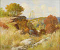 Texas:Early Texas Art - Impressionists, EDITH ZEMAN (dec.). Untitled Hill Country Autumn. Oil on canvas.25in. x 30in.. Signed lower right. Edith Zeman exhibited ...