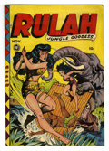 Golden Age (1938-1955):Adventure, Rulah Jungle Goddess #20 (Fox Features Syndicate, 1948) Condition: Apparent VG+....