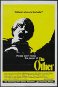 "Movie Posters:Horror, The Other (20th Century Fox, 1972). One Sheet (27"" X 41""). Horror. Starring Uta Hagen, Diana Muldaur, Chris Udvarnoky and Ma..."