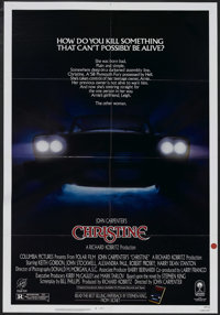 "Christine (Columbia, 1983). One Sheet (27"" X 41""). Horror. Starring Keith Gordon, John Stockwell, Alexandra Pa..."