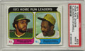 Baseball Cards:Singles (1970-Now), 1974 Topps Home Run Leaders R.Jackson/W.Stargell #202 PSA Mint 9.The amazing slugging duo of Willie Stargell and Reggie Ja...