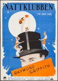 "Movie Posters:Comedy, The Night Club (Paramount, 1926). Swedish One Sheet (28.5"" X39.25""). Comedy.. ..."