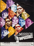 """Movie Posters:Action, Mission Impossible Versus the Mob (Paramount, 1968). French Grande(46"""" X 62.5""""). Action.. ..."""