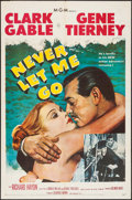 """Movie Posters:Adventure, Never Let Me Go (MGM, 1953). One Sheet (27"""" X 41""""). Adventure.. ..."""