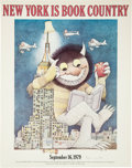 Books:Fine Press & Book Arts, Maurice Sendak. New York Is Book Country. Signed Poster. NewYork: 1979....