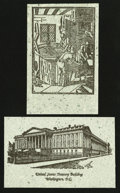 "Miscellaneous:Other, Modern ""Macerated Currency"" Postcards.. ... (Total: 14 items)"
