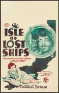 """Movie Posters:Adventure, The Isle of Lost Ships (First National, 1929). Window Card (14"""" X22""""). Adventure.. ..."""