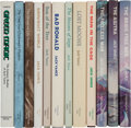 Books:Science Fiction & Fantasy, Jack Vance. Group of Twelve Novels by Jack Vance, Eleven Signed.San Francisco, California and Columbia, Pennsylvania: Under...(Total: 12 )